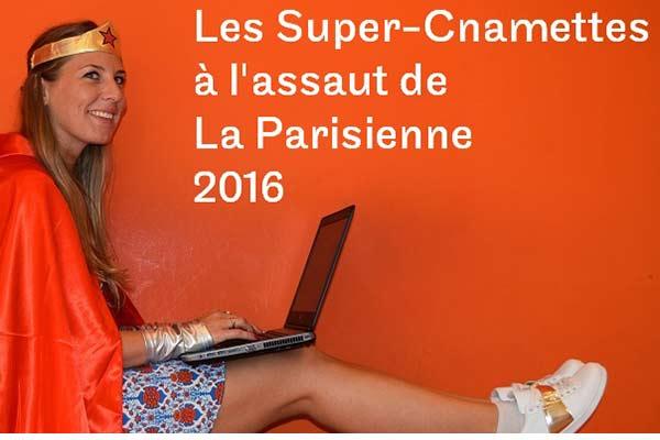 Alix, super Cnamette à l'assaut de La Parisienne 2016
