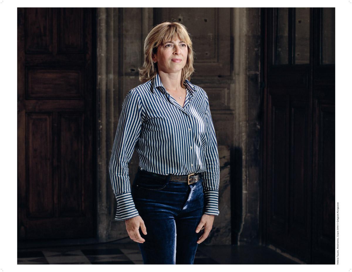 Hélène Tauzin, photographie de Grégoire Korganow