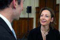 Michèle, future diplômée en Formation des adultes.